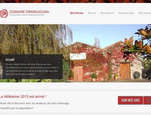Le Domaine Grandjouan – Viticulteur à St Mars de Coutais
