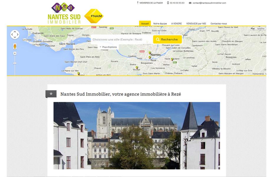 Nantes Sud Immobilier à Rezé