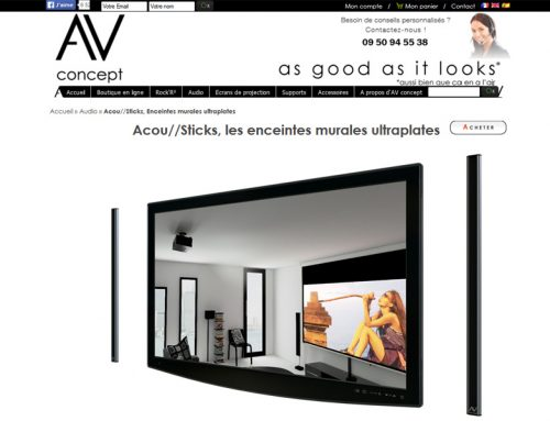 site internet abox informatique by antiopa. Black Bedroom Furniture Sets. Home Design Ideas