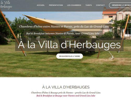 A la Villa d'Herbauges, chambres d'hôtes à Bouaye