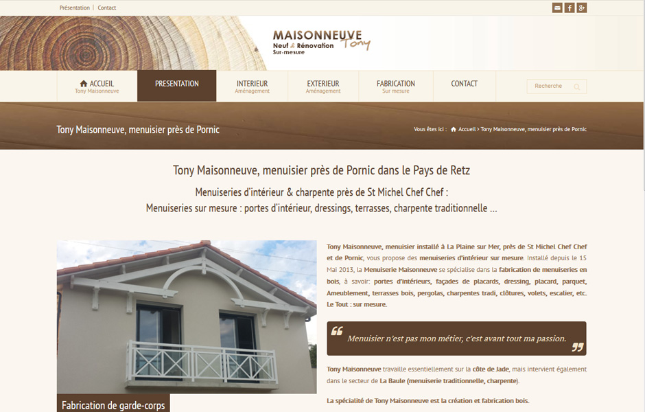 Tony Maisonneuve - Antiopa Création Internet