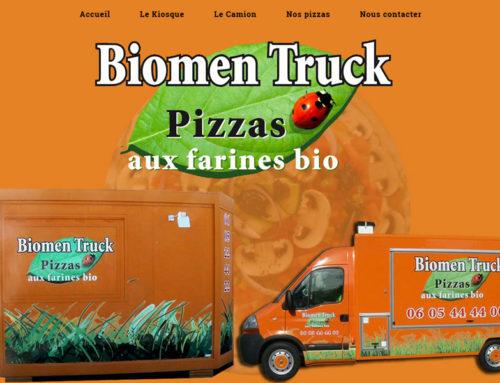 Biomen Truck Pizzas, Pizzas à emporter à Machecoul