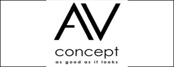 logo AV concept product par antiopa sur internet