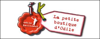 logo la petite boutique d'odile par antiopa sur internet