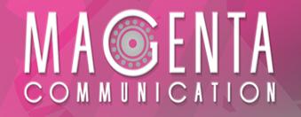logo magenta par antiopa sur internet