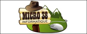 logo micro 38 par antiopa sur internet