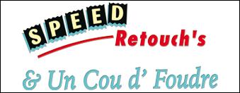 logo speed retouch par antiopa sur internet