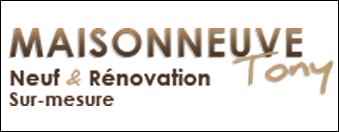 logo tony maisonneuve par antiopa sur internet