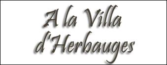 logo villa herbauges par antiopa sur internet