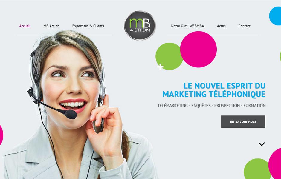 MB Action, site internet Antiopa Bouaye