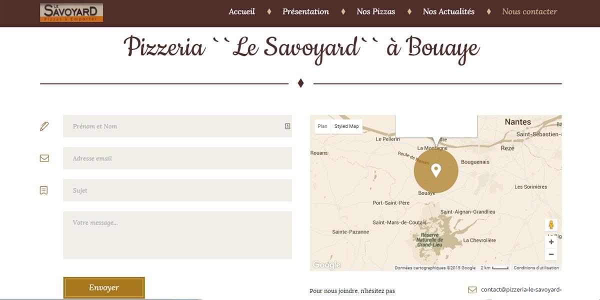Contacter Antiopa ou Pizzeria Le Savoyard à Bouaye - Loire-atlantique 44