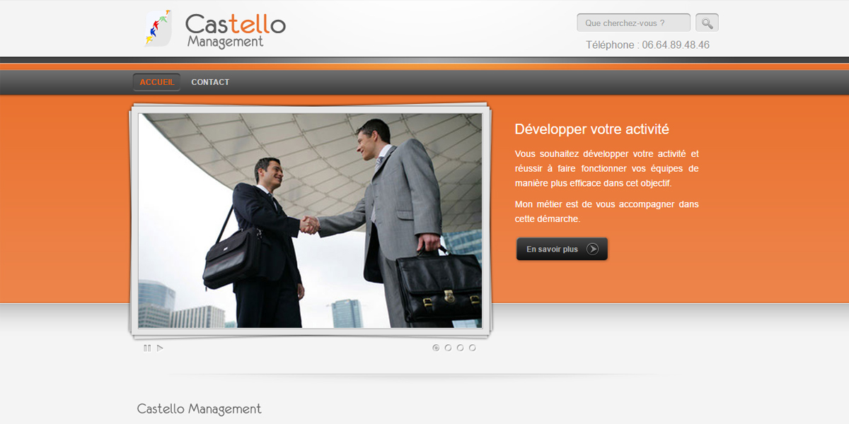 castello management coach france