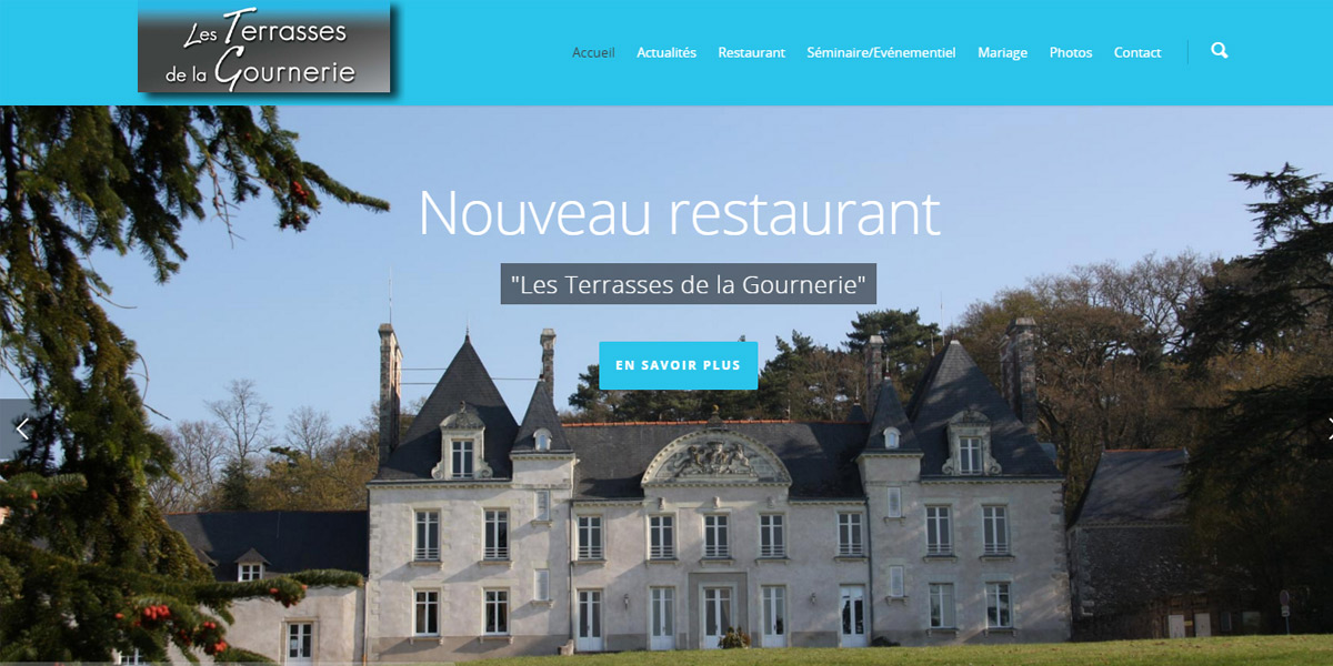 chateau terrasses gournerie 44