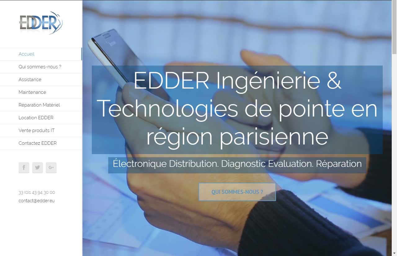 Edder, société informatique en Région Parisienne