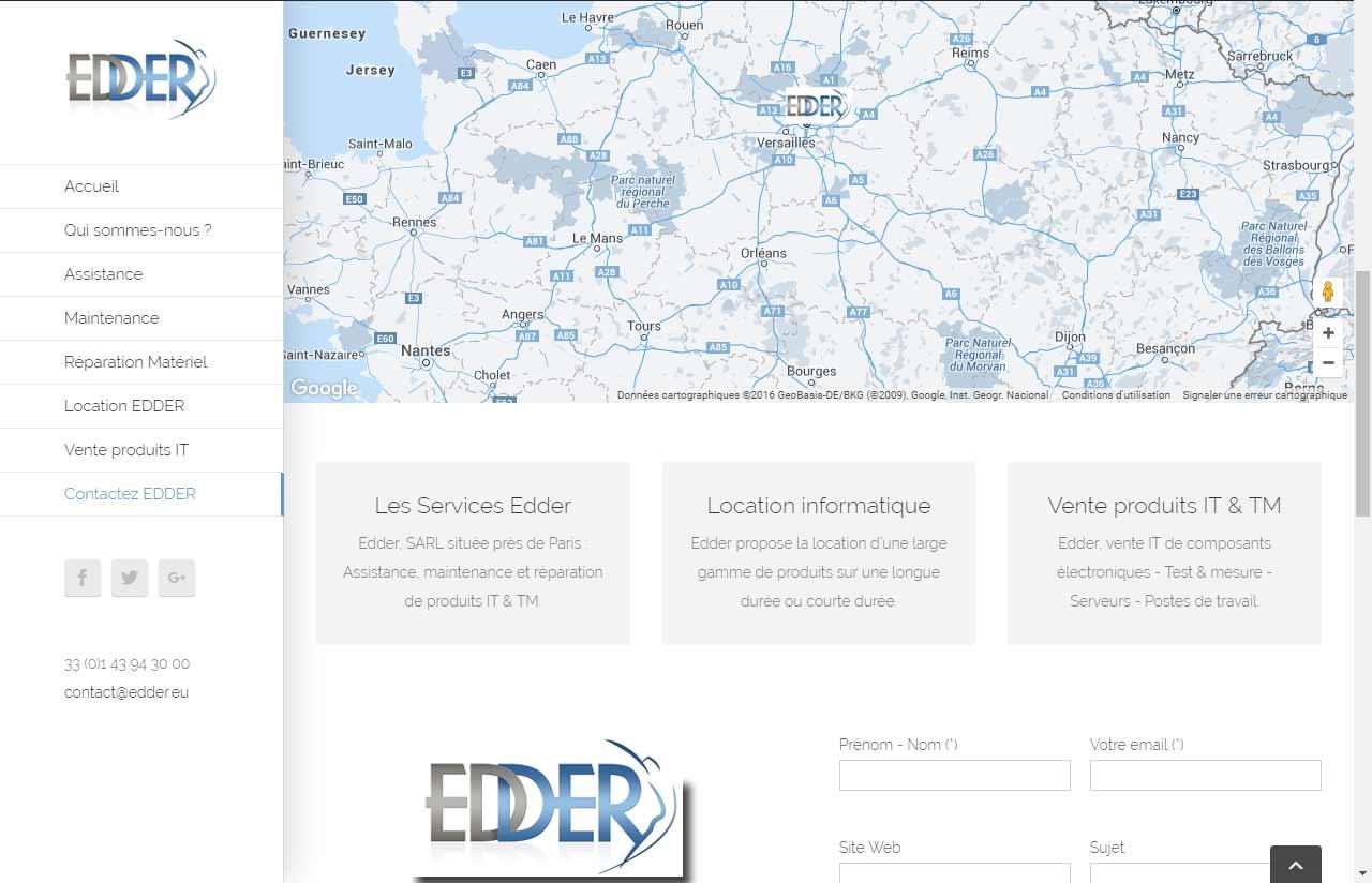 EDDER, solutions pour produits de hautes technologies à Paris