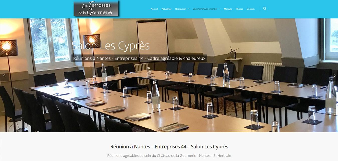 Antiopa Séminaires Nantes château site internet