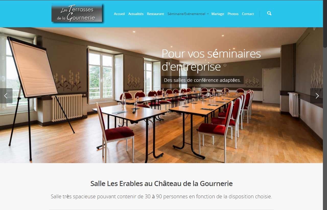 Les terrasses de la gournerie, restaurant à 3 minutes de Nantes