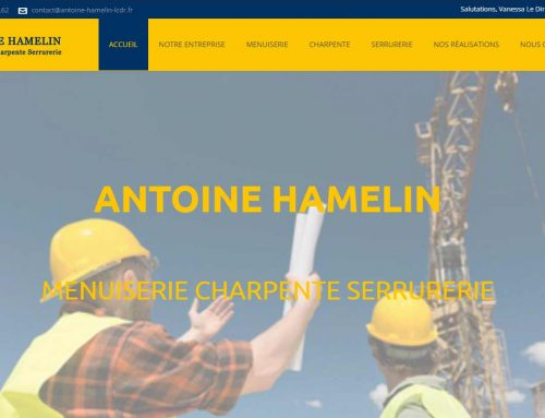 Antoine Hamelin, Serrurier Vitrier