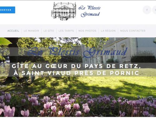 Le Plessis Grimaud, gîte à Saint Viaud