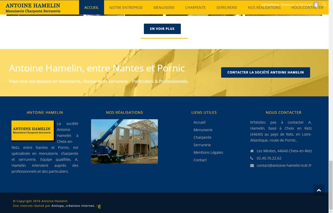 A. Hamelin, s'occupe de la rénovation des maisons, site by Antiopa