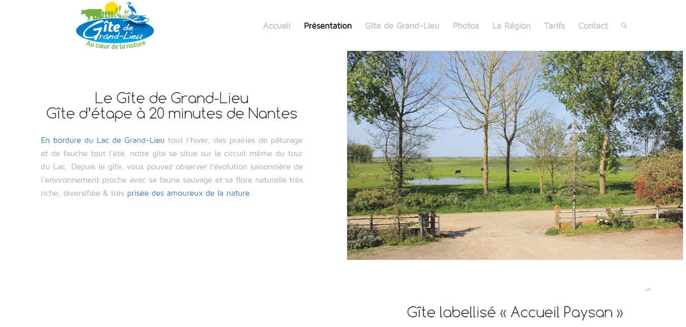 Gite entre Nantes et Pornic - le Gite de Grand-Lieu dans le 44
