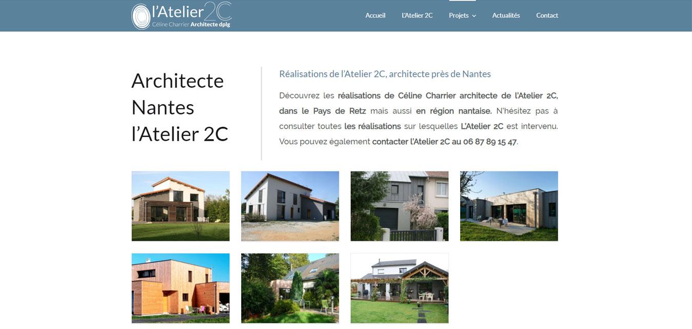 architecte Atelier 2 C Nantes Pornic 44680