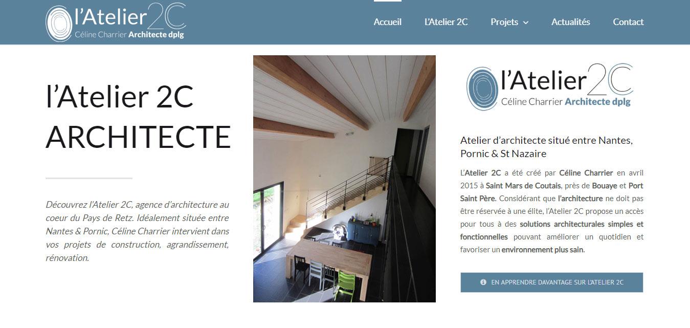 Architecte St Mars de Coutais Site Antiopa Internet