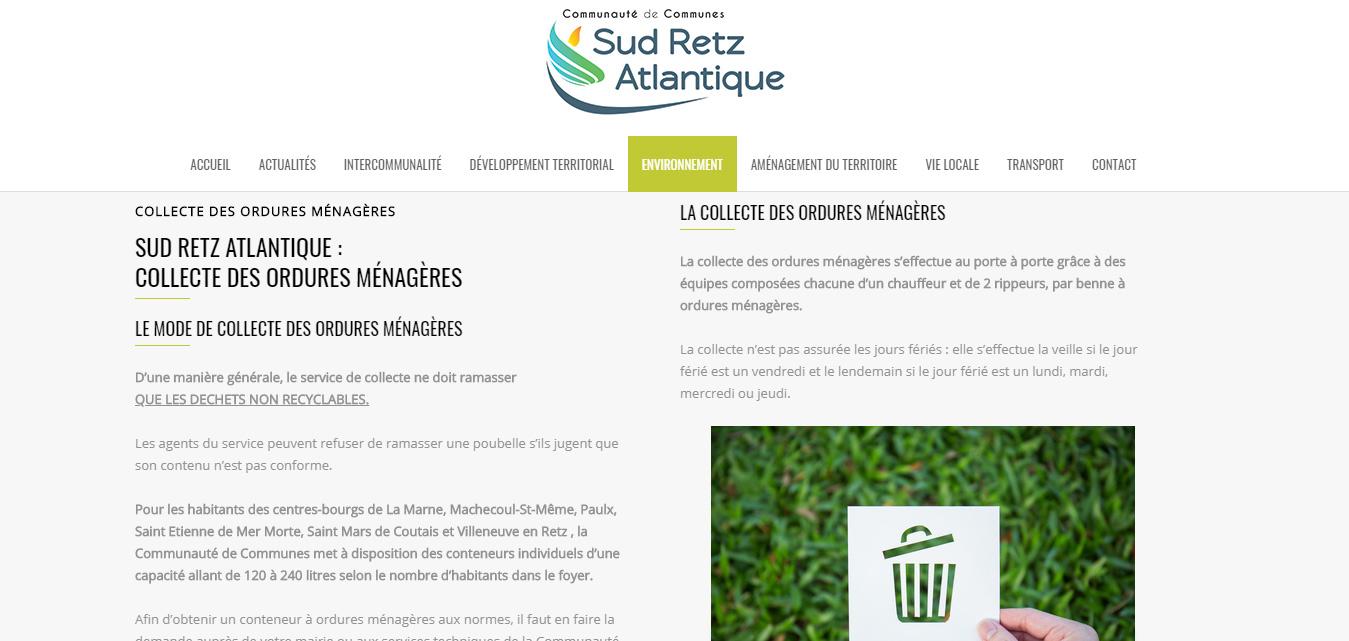 Création internet antiopa Sud Retz Atlantique