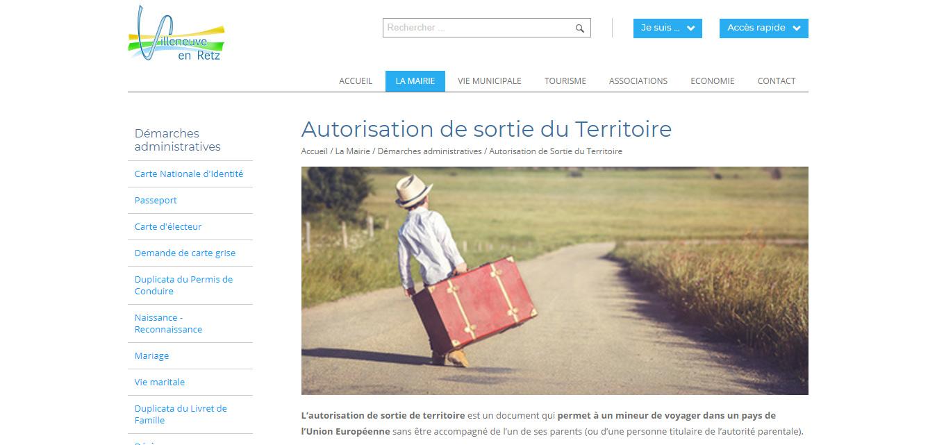 Création internet Antiopa Villeneuve-en-Retz