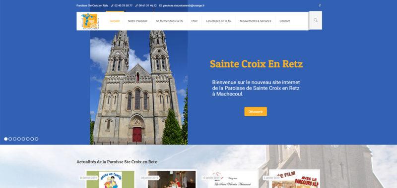Paroisse Ste Croix en Retz 44270