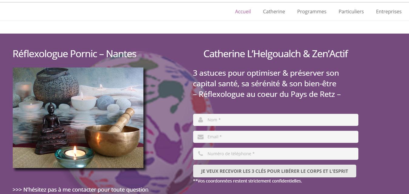 Site Internet Antiopa Zen Actif Ste Pazanne