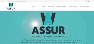 W ASSUR Création internet Antiopa 44