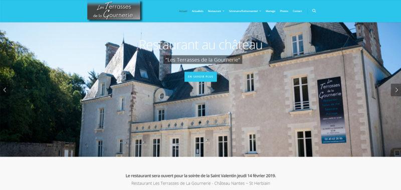 Site internet antiopa Terrasses de la Gournerie