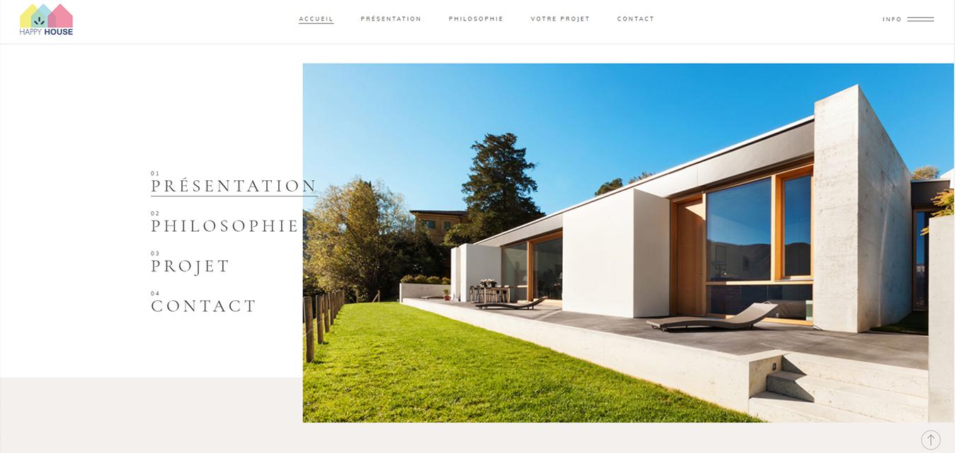 Maison Happy House site internet antiopa Nantes