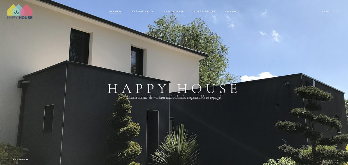Site internet Antiopa Maison Happy House